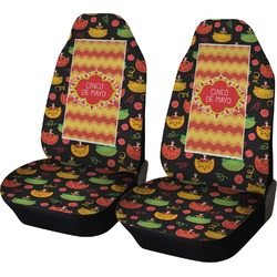 Cinco De Mayo Car Seat Covers (Set of Two) (Personalized)