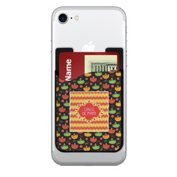 Cinco De Mayo 2-in-1 Cell Phone Credit Card Holder & Screen Cleaner (Personalized)
