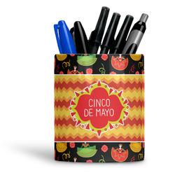 Cinco De Mayo Ceramic Pen Holder