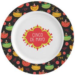 Cinco De Mayo Ceramic Dinner Plates (Set of 4) (Personalized)