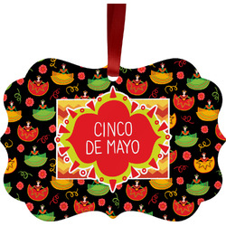 Cinco De Mayo Ornament (Personalized)