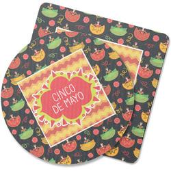 Cinco De Mayo Rubber Backed Coaster (Personalized)