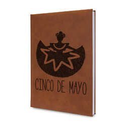 Cinco De Mayo Leatherette Journal (Personalized)