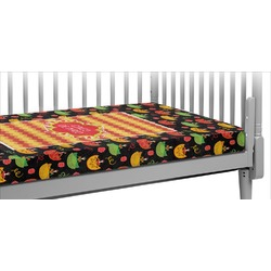 Cinco De Mayo Crib Fitted Sheet (Personalized)