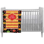 Cinco De Mayo Crib Comforter / Quilt (Personalized)