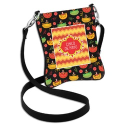 Cinco De Mayo Cross Body Bag - 2 Sizes (Personalized)