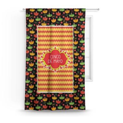 Cinco De Mayo Curtain (Personalized)