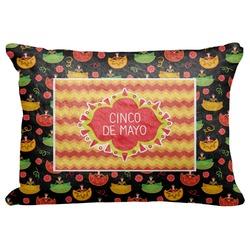 "Cinco De Mayo Decorative Baby Pillowcase - 16""x12"" (Personalized)"