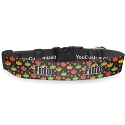 """Cinco De Mayo Deluxe Dog Collar - Extra Large (16"""" to 27"""") (Personalized)"""