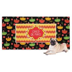 Cinco De Mayo Pet Towel (Personalized)