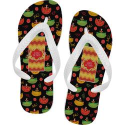 Cinco De Mayo Flip Flops - XSmall (Personalized)