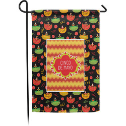 Cinco De Mayo Garden Flag - Single or Double Sided (Personalized)
