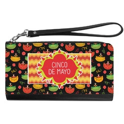 Cinco De Mayo Genuine Leather Smartphone Wrist Wallet (Personalized)