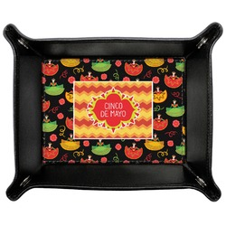 Cinco De Mayo Genuine Leather Valet Tray (Personalized)