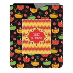 Cinco De Mayo Genuine Leather iPad Sleeve (Personalized)