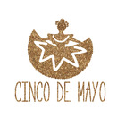 Cinco De Mayo Glitter Iron On Transfer- Custom Sized (Personalized)