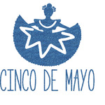 Cinco De Mayo Glitter Sticker Decal - Custom Sized (Personalized)