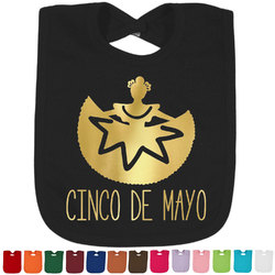 Cinco De Mayo Foil Toddler Bibs (Select Foil Color) (Personalized)