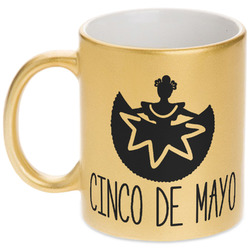 Cinco De Mayo Gold Mug