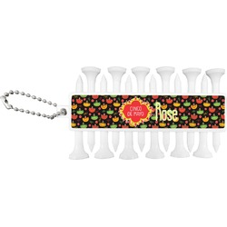 Cinco De Mayo Golf Tees & Ball Markers Set (Personalized)