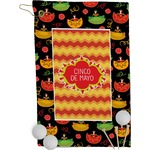 Cinco De Mayo Golf Towel - Full Print (Personalized)