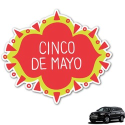 Cinco De Mayo Graphic Car Decal (Personalized)