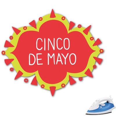 Cinco De Mayo Graphic Iron On Transfer (Personalized)