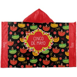 Cinco De Mayo Kids Hooded Towel (Personalized)