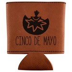 Cinco De Mayo Leatherette Can Sleeve (Personalized)