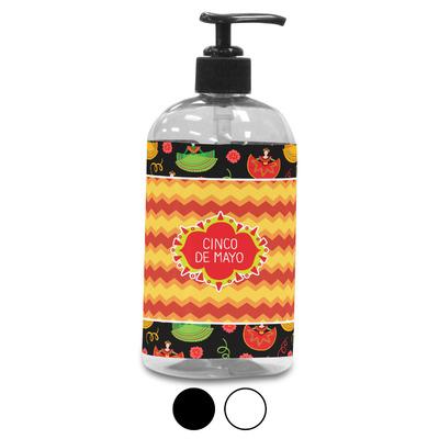 Cinco De Mayo Plastic Soap / Lotion Dispenser (Personalized)