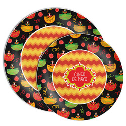 Cinco De Mayo Melamine Plate (Personalized)