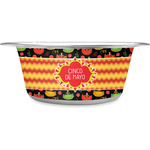 Cinco De Mayo Stainless Steel Dog Bowl (Personalized)