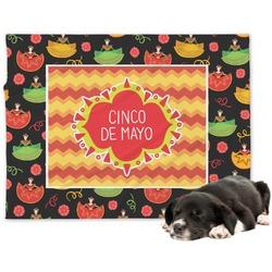 Cinco De Mayo Minky Dog Blanket (Personalized)