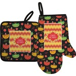 Cinco De Mayo Oven Mitt & Pot Holder (Personalized)