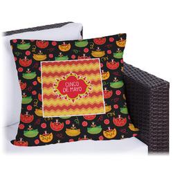 Cinco De Mayo Outdoor Pillow (Personalized)