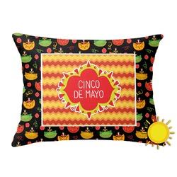Cinco De Mayo Outdoor Throw Pillow (Rectangular) (Personalized)