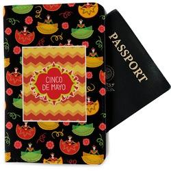Cinco De Mayo Passport Holder - Fabric (Personalized)