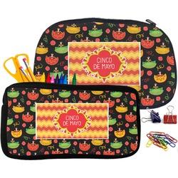 Cinco De Mayo Pencil / School Supplies Bag (Personalized)