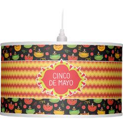 Cinco De Mayo Drum Pendant Lamp (Personalized)