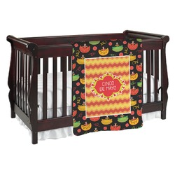 Cinco De Mayo Baby Blanket (Personalized)