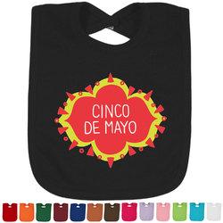 Cinco De Mayo Baby Bib - 14 Bib Colors (Personalized)