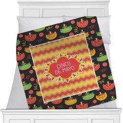 Cinco De Mayo Minky Blanket (Personalized)