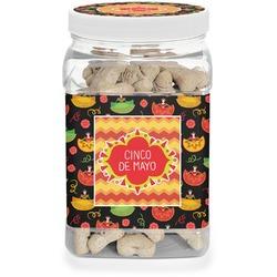 Cinco De Mayo Pet Treat Jar (Personalized)