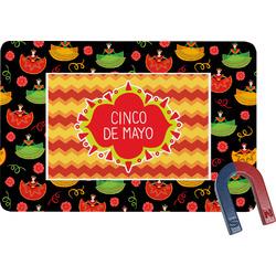 Cinco De Mayo Rectangular Fridge Magnet (Personalized)