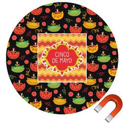 Cinco De Mayo Car Magnet (Personalized)