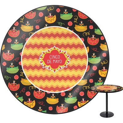 Cinco De Mayo Round Table (Personalized)