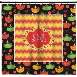 Cinco De Mayo Shower Curtain (Personalized)
