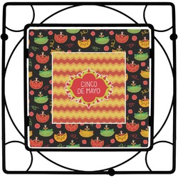 Cinco De Mayo Square Trivet (Personalized)