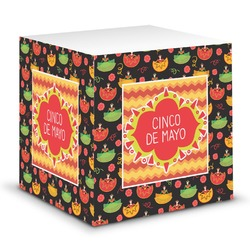 Cinco De Mayo Sticky Note Cube (Personalized)