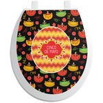 Cinco De Mayo Toilet Seat Decal (Personalized)